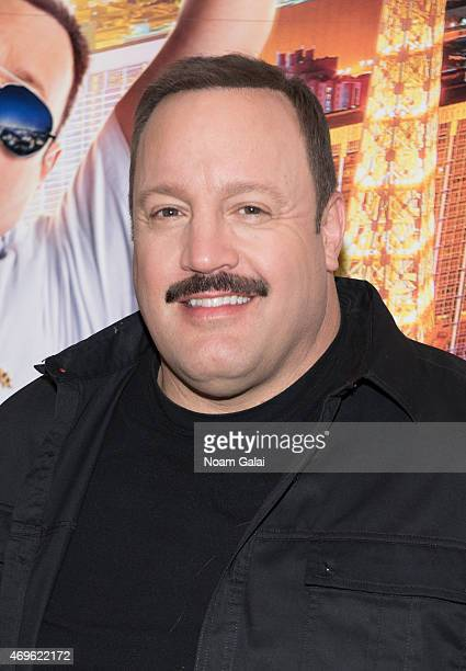 Actor Kevin James attends The Moms 'Paul Blart Mall Cop 2' Screening at AMC Loews Lincoln Square 13 on April 13 2015 in New York City