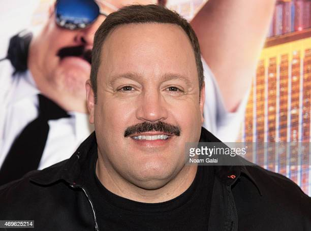 Actor Kevin James attends The Moms 'Paul Blart: Mall Cop 2' screening at AMC Loews Lincoln Square 13 on April 13, 2015 in New York City.