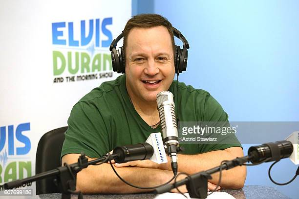 Actor Kevin James visits The Elvis Duran Z100 Morning Show at Z100 Studios on September 19 2016 in New York City