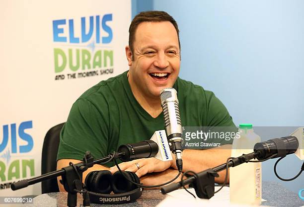 Actor Kevin James visits 'The Elvis Duran Z100 Morning Show' at Z100 Studios on September 19 2016 in New York City