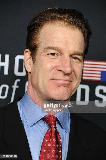 """Actor Kevin Kilner arrives at the special screening of Netflix's """"House of Cards"""" Season 2 held at the Directors Guild of America."""