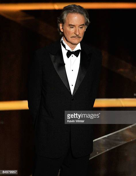 Actor Kevin Kline presents during the 81st Annual Academy Awards held at Kodak Theatre on February 22 2009 in Los Angeles California