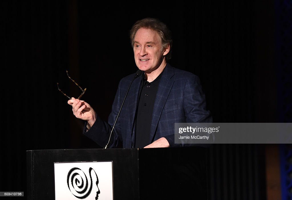 Actor Kevin Kline speaks on stage during 2015 New York Film Critics Circle Awards at TAO Downtown on January 4, 2016 in New York City.