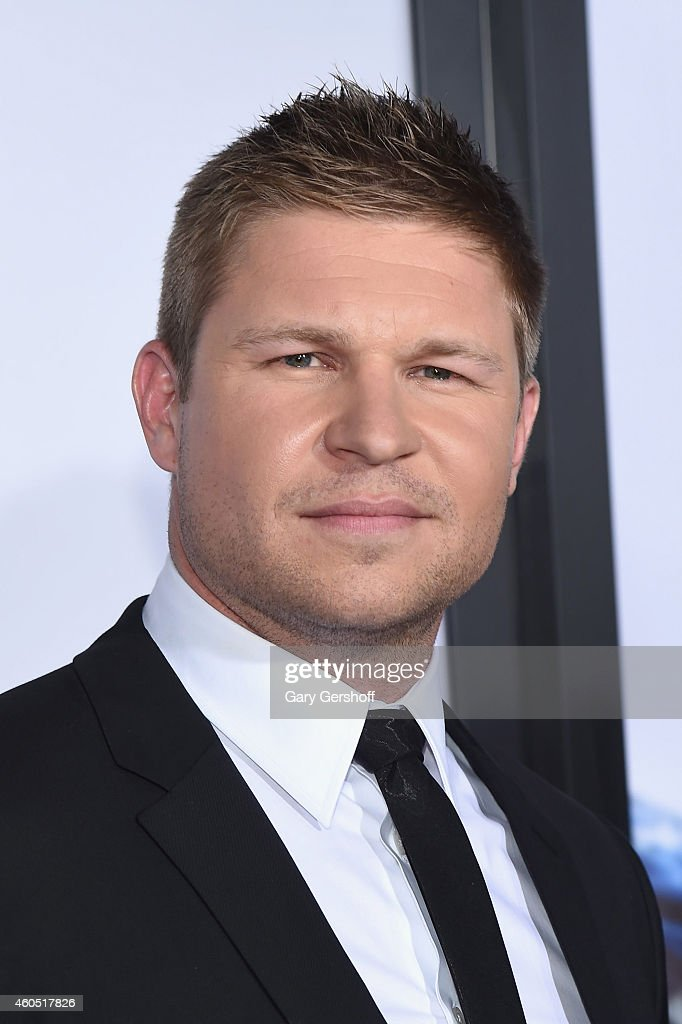 Actor Kevin Lacz arrives at the 'American Sniper' New York