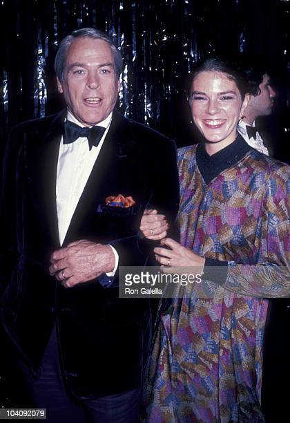 Actor Kevin McCarthy and wife Kate Crane attend the taping of Bob Hope's 30th Anniversary Party on January 11 1981 at NBC Studios in Burbank...