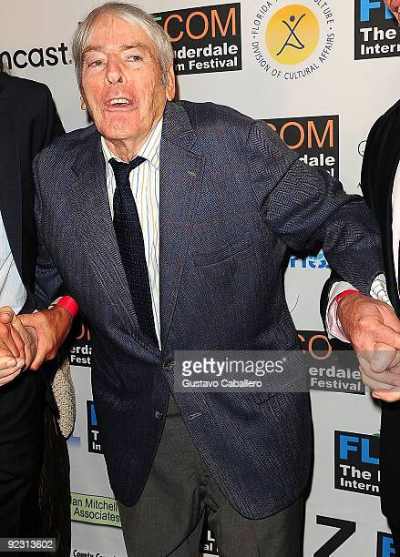 Actor Kevin McCarthy attends the opening night of The 24th Annual Fort Lauderdale International Film Festival at Rose and Alfred Miniaci Performing...