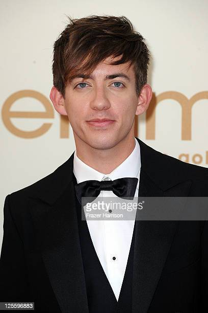 Actor Kevin McHale arrives at the 63rd Annual Primetime Emmy Awards held at Nokia Theatre LA LIVE on September 18 2011 in Los Angeles California