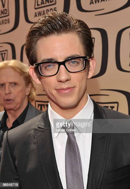 Actor Kevin McHale arrives at the 8th Annual TV Land Awards at Sony Studios on April 17 2010 in Los Angeles California