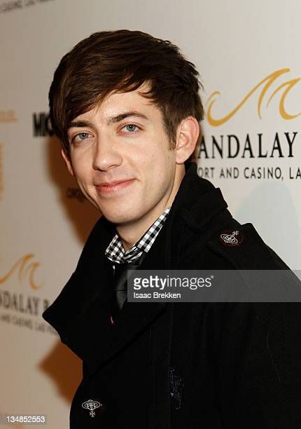 Actor Kevin McHale arrives at the Las Vegas premiere of Michael Jackson THE IMMORTAL World Tour by Cirque du Soleil at the Mandalay Bay Resort Casino...