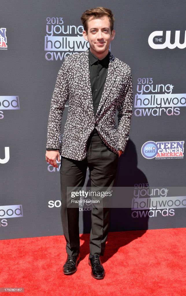 Actor Kevin McHale attends CW Network's 2013 Young Hollywood Awards presented by Crest 3D White and SodaStream held at The Broad Stage on August 1, 2013 in Santa Monica, California.