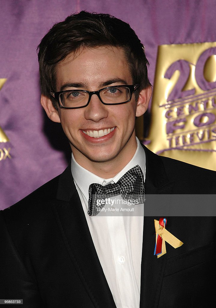 Actor Kevin McHale attends Fox's 2010 Golden Globes Awards Party at Craft on January 17, 2010 in Century City, California.