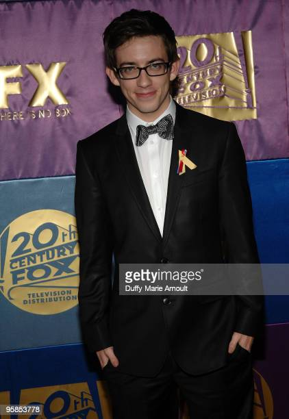 Actor Kevin McHale attends Fox's 2010 Golden Globes Awards Party at Craft on January 17 2010 in Century City California