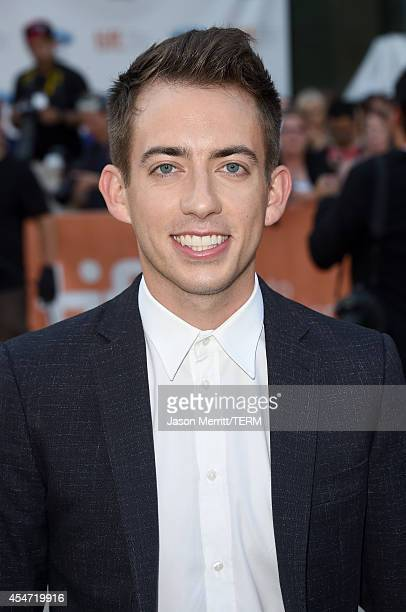 Actor Kevin McHale attends the Boychoir premiere during the 2014 Toronto International Film Festival at Roy Thomson Hall on September 5 2014 in...