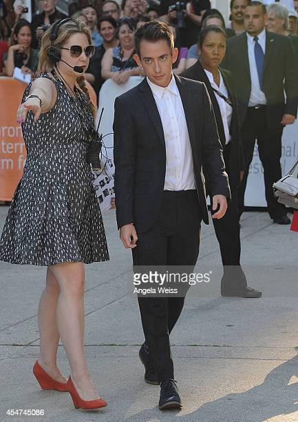 Actor Kevin McHale attends the 'Boychoir' premiere during the 2014 Toronto International Film Festival at Roy Thomson Hall on September 5 2014 in...