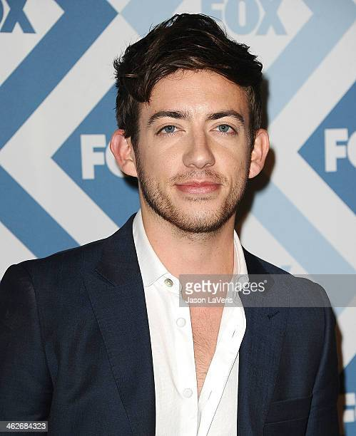 Actor Kevin McHale attends the FOX AllStar 2014 winter TCA party at The Langham Huntington Hotel and Spa on January 13 2014 in Pasadena California