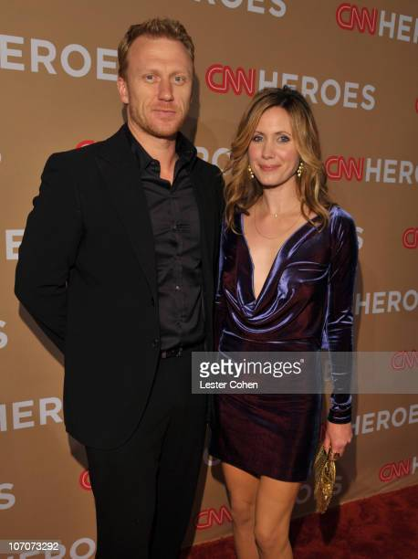 Actor Kevin McKidd and Jane Parker arrive at the 2010 CNN Heroes: An All-Star Tribute held at The Shrine Auditorium on November 19, 2010 in Los...