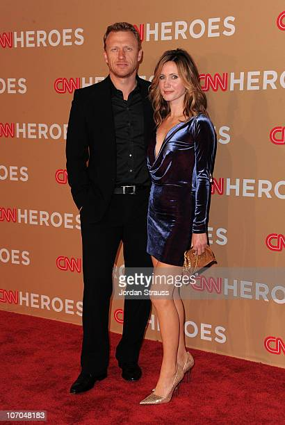 Actor Kevin McKidd and Wife Jane Parker arrive at the 2010 CNN Heroes: An All-Star Tribute held at The Shrine Auditorium on November 20, 2010 in Los...