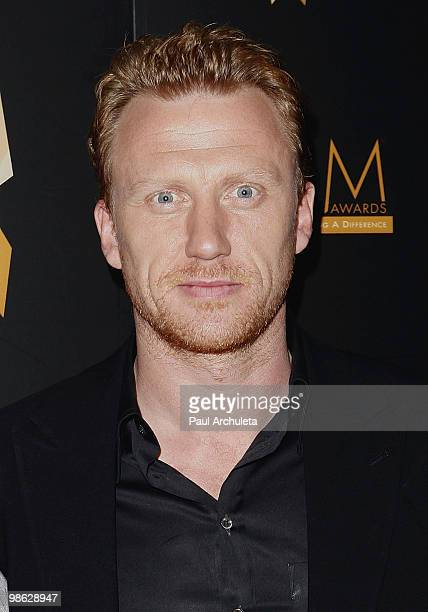 Actor Kevin McKidd arrives at the 2010 PRISM Awards at Beverly Hills Hotel on April 22 2010 in Beverly Hills California