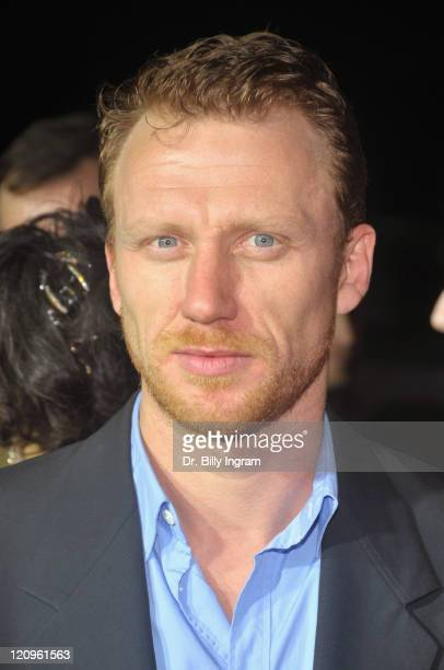 Actor Kevin McKidd arrives at the Los Angeles premiere of 'Frost/Nixon' on November 24 2008 in Los Angeles California