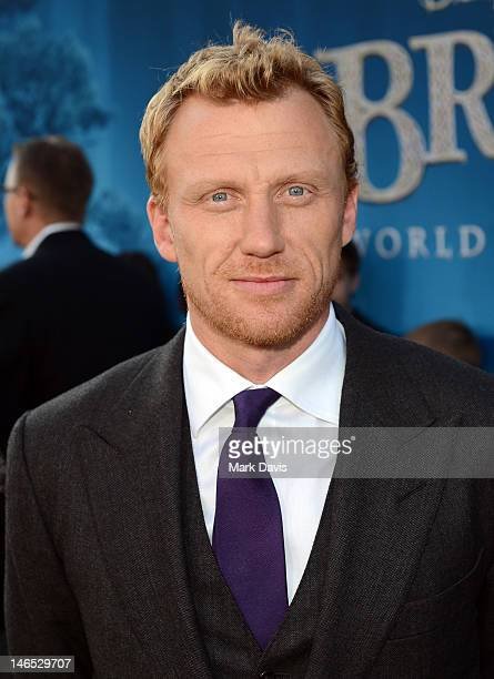 Actor Kevin McKidd arrives at the premiere of Brave during the 2012 Los Angeles Film Festival at Dolby Theatre on June 18 2012 in Hollywood California