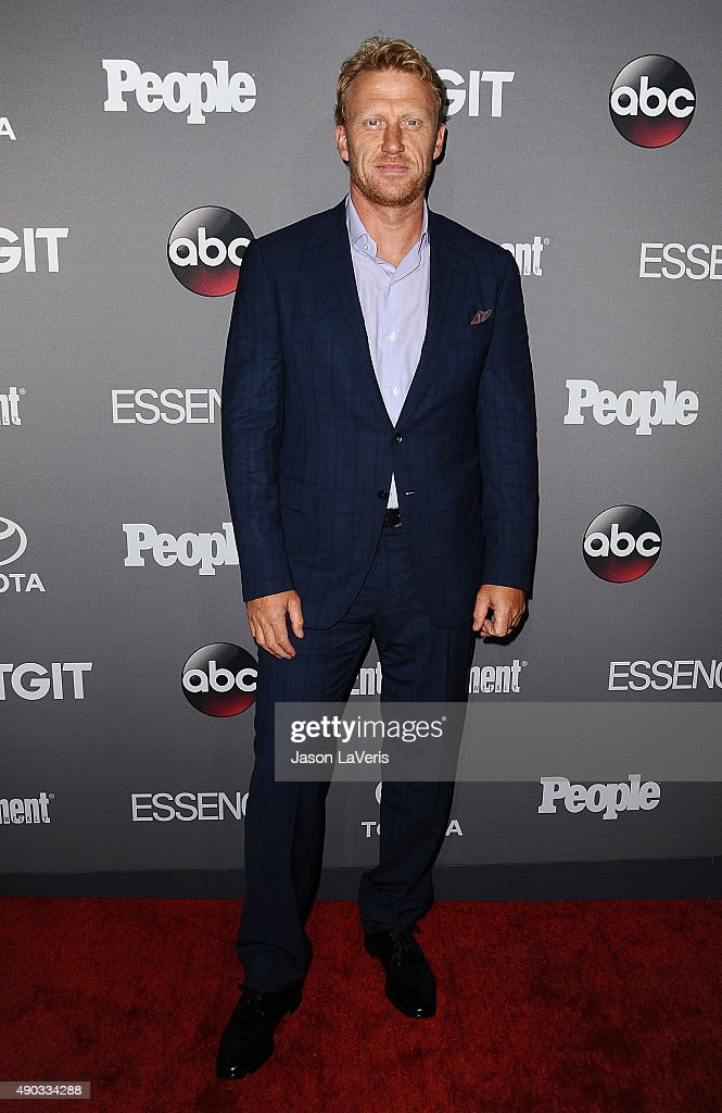Actor Kevin McKidd attends ABC's TGIT premiere event on September 26, 2015 in West Hollywood, California.