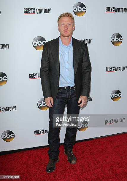 Actor Kevin McKidd attends the 200th episode celebration of 'Grey's Anatomy' at The Colony on September 28 2013 in Los Angeles California