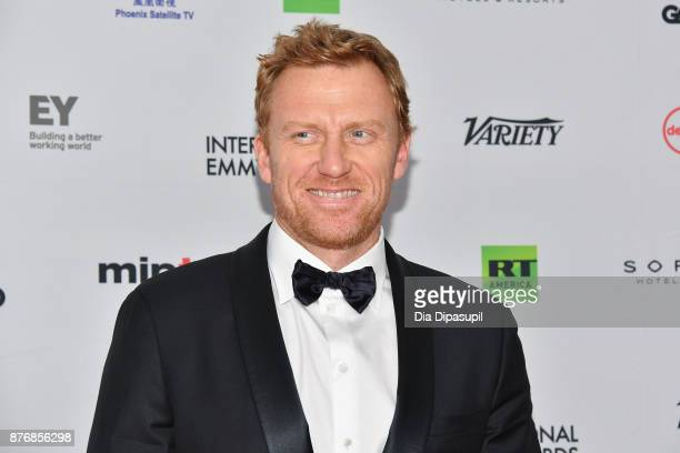 Actor Kevin McKidd attends the 45th International Emmy Awards at New York Hilton on November 20 2017 in New York City