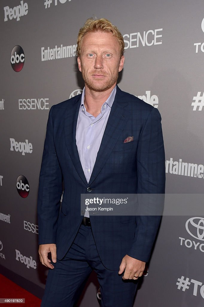 Actor Kevin McKidd attends the Celebration of ABC's TGIT Line-up presented by Toyota and co-hosted by ABC and Time Inc.'s Entertainment Weekly, Essence and People at Gracias Madre on September 26, 2015 in West Hollywood, California.