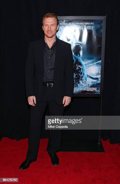 Actor Kevin McKidd attends the Percy Jackson The Olympians The Lightning Thief special screening at AMC Loews Lincoln Square 13 theater on February 4...