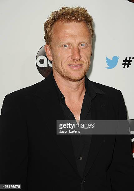 Actor Kevin McKidd attends the #TGIT premiere event hosted by Twitter at Palihouse Holloway on September 20 2014 in West Hollywood California