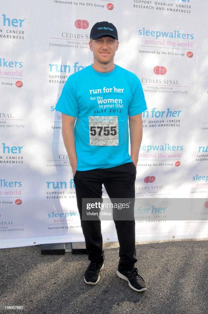 Actor Kevin McKidd attends Women's Cancer Program's 5K Run And