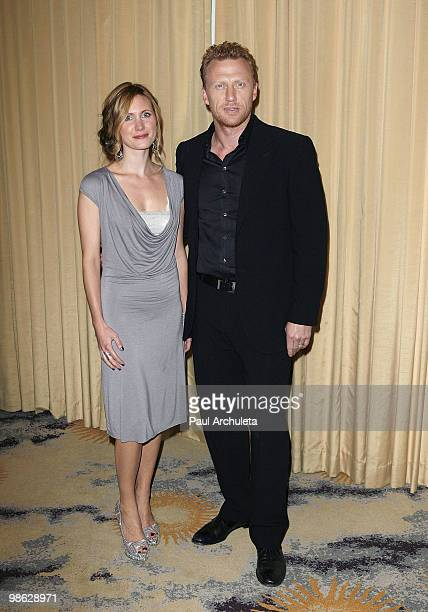 Actor Kevin McKidd his wife Jane Parker arrives at the 2010 PRISM Awards at Beverly Hills Hotel on April 22 2010 in Beverly Hills California