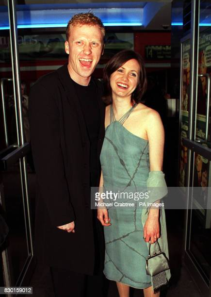 """Actor Kevin McKidd with grilfriend Jane Parker at the Gala Charity Premiere of his film """"Bedrooms & Hallways,"""" at the Curzon Soho Cinema, London, in..."""
