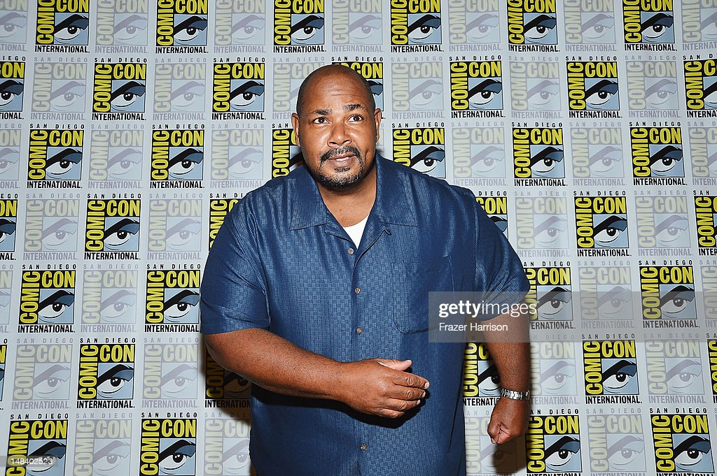 Actor Kevin Michael Richardson attends 'The Cleveland Show' Press Line during Comic-Con International 2012 at Hilton San Diego Bayfront Hotel on July 15, 2012 in San Diego, California.