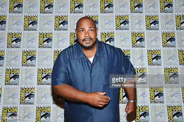 Actor Kevin Michael Richardson attends The Cleveland Show Press Line during ComicCon International 2012 at Hilton San Diego Bayfront Hotel on July 15...