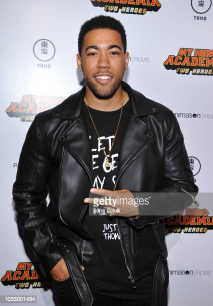 Actor Kevin Mimms attends My Hero Academia World Dub Premiere at Regal Cinemas LA Live on September 13 2018 in Los Angeles California