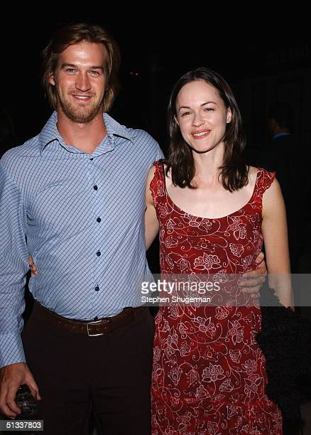 """Actor Kevin Mitchell and actress Susan May Pratt attend the premiere of """"Take Me Out"""" at The Geffen Playhouse at the Brentwood Theatre on September..."""
