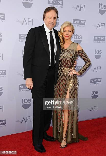 Actor Kevin Nealon and actress Susan Yeagley attend the 43rd AFI Life Achievement Award gala at Dolby Theatre on June 4 2015 in Hollywood California
