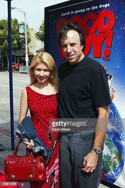 Actor Kevin Nealon and his wife Linda arrive at the premiere of Good Boy at the Mann's Village Theatre on October 4 2003 in Los Angeles California