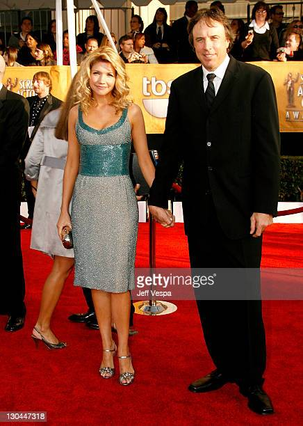 Actor Kevin Nealon and his wife Susan Yeagley arrive at the 15th Annual Screen Actors Guild Awards held at the Shrine Auditorium on January 25 2009...
