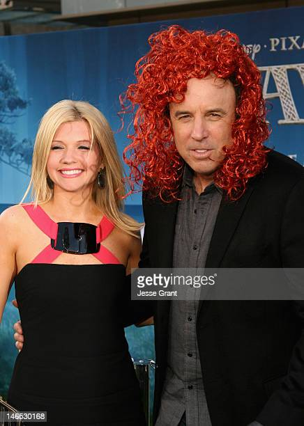 Actor Kevin Nealon and Susan Yeagley arrive at Film Independent's 2012 Los Angeles Film Festival Premiere of Disney Pixar's Brave at Dolby Theatre on...