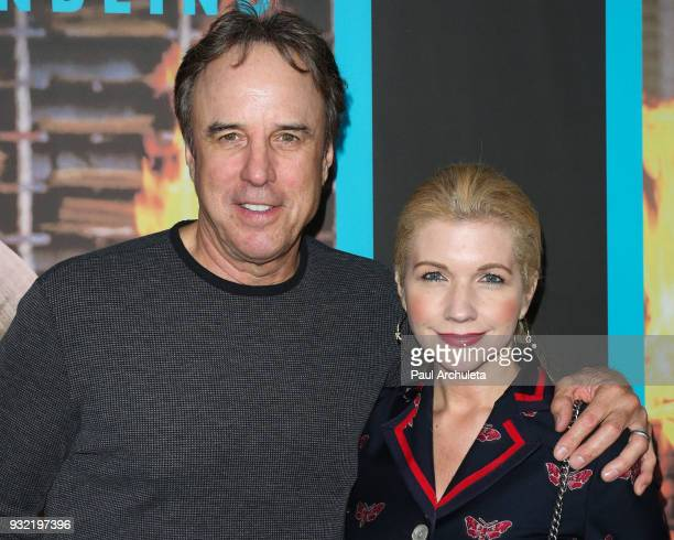 Actor Kevin Nealon and Susan Yeagley attend the screening of HBO's 'The Zen Diaries Of Garry Shandling' at Avalon on March 14 2018 in Hollywood...