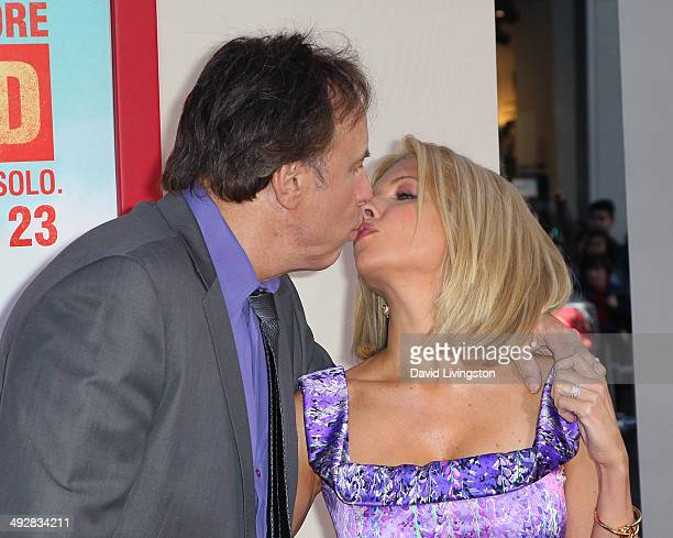 Actor Kevin Nealon and wife actress Susan Yeagley attend the Los Angeles premiere of Blended at the TCL Chinese Theatre on May 21 2014 in Hollywood...