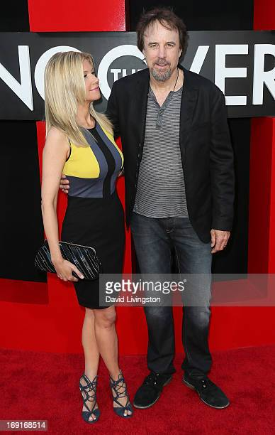 Actor Kevin Nealon and wife actress Susan Yeagley attend the premiere of Warner Bros Pictures' Hangover Part III at the Westwood Village Theater on...