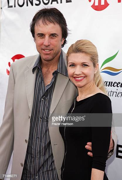 Actor Kevin Nealon and wife Susan arrive at the premiere of season two of Showtime's series Weeds at the Egyptian Theatre on July 19 in Hollywood...
