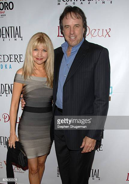 Actor Kevin Nealon and wife Susan Yeagley attend Los Angeles Confidential Magazine's PreEmmy Party at Les Deux on September 20 2008 in Los Angeles...