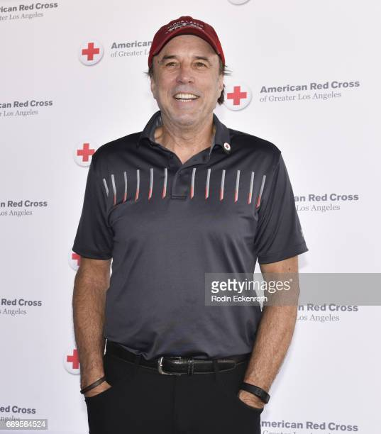 Actor Kevin Nealon attends American Red Cross Los Angeles Region's 4th Annual Celebrity Golf Tournament at Lakeside Golf Club on April 17, 2017 in...