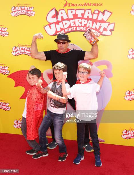Actor Kevin Nealon attends the Premiere Of 20th Century Fox's 'Captain Underpants The First Epic Movie' at Regency Village Theatre on May 21 2017 in...