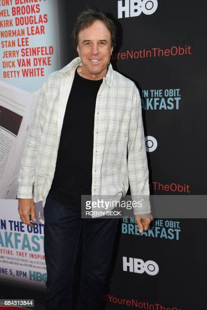 Actor Kevin Nealon attends the premiere of the HBO documentary If Youre Not In the Obit Eat Breakfast May 17 2017 at the Samuel Goldwyn Theatre in...