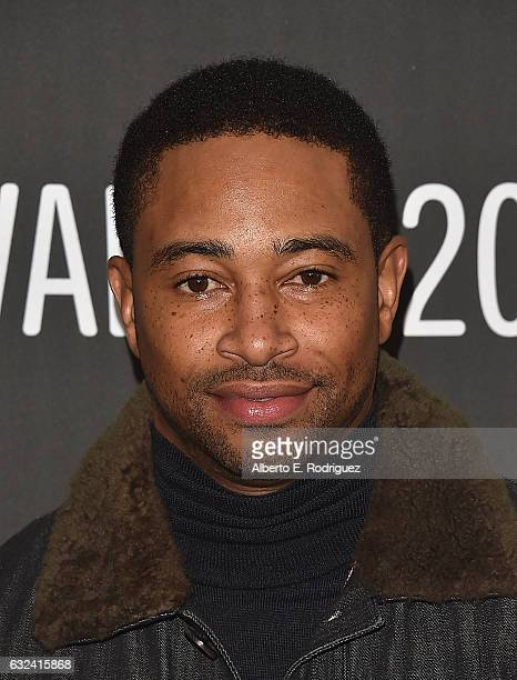 Actor Kevin Phillips attends the Roxanne Roxanne' Premiere on day 4 of the 2017 Sundance Film Festival at Library Center Theater on January 22 2017...